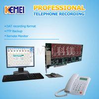 customer call center phone call recording card
