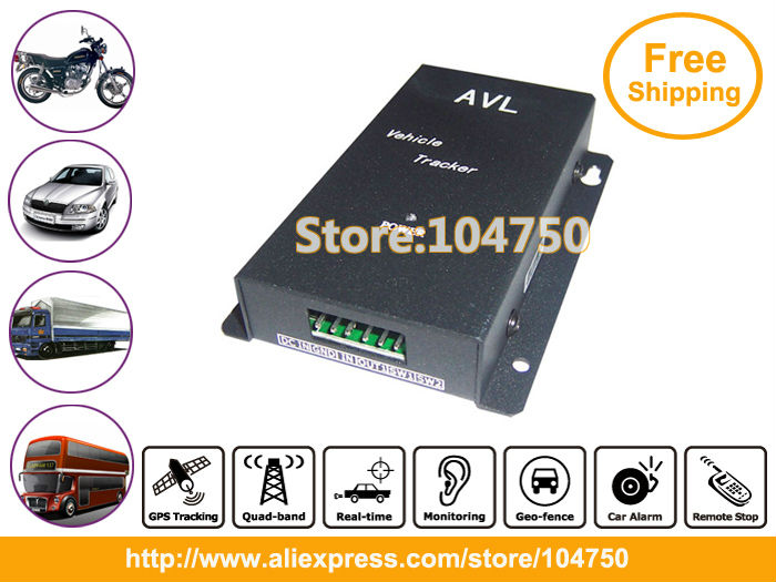 DHL Free shipping! 4pcs/lot, New year promotion! Vehicle gps Tracker with Engine-stop Function VT300(China (Mainland))
