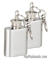 Shipping free ,  Lead-free  1oz  stainless steel mini hip flask