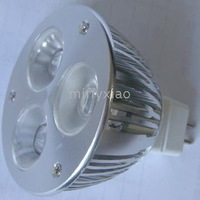 Free shipping: GU5.3 LED bulb + 3*1W /3*2W, Edison & HCC led+ CE&ROHS + 30/45/60degree + AC/DC12V+2years Warranty