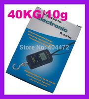 50pcs free shipping DHL 40kg x 20g Electronic Portable Digital Scale lb oz kg