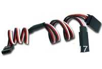 10 pcs 300mm 30cm Y type extended line Y Extension Lead Wire Cable for Futaba JR + low shipping fee + support 2014