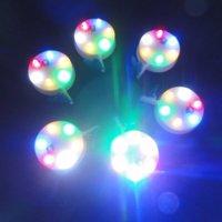 Shinning Led Light for Large Kites LED light(lamp) with blue clip 20pcs/unit 3 colors light so beautiful wei kite factory