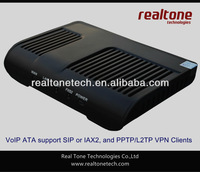 2 FXS ports VoIP ATA adapter SIP based, with VPN client inside