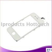 10pcs/lot Free shipping touch screen digitizer for iphone 4G 4