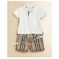 RD4011 baby boys suit 2 pc set tops + shorts 0728 B yql