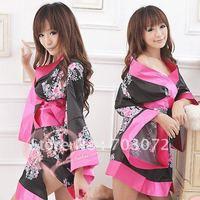 Hot selling,Sexy kimono,Japanese dress,sexy lingerie,ladies nightwear,free shipping