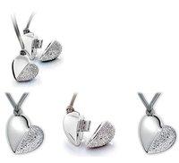 1pc A Heart OEM Jewelry USB Pen Drive 2G/4G/8G/16G/32G USB disk drive 100% Real capacity
