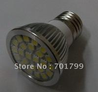 24 pcs SMD 5050 led spotlight;E27base;350-370lm;warm white;AC/DC12V
