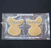 wholesale 200pcs/lot  Moisture Gold Collagen Crystal Eye Clamp Mask (Free Shipping)