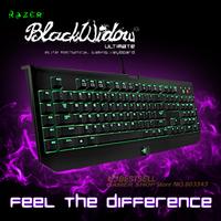 Razer BlackWidow Ultimate 2014 Mechanical gaming keyboard, Origna Keyboard, Ship without  Retail box