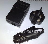 Battery Charger for Panasonic CGA-S005 DMC-FX12 DMC-FX8 UK US AU EU PLUG