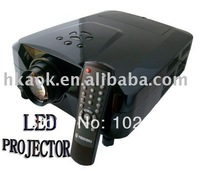LED projector with HDMI ,AV,S-video,VGA,YPbPr 1080i Free shipping