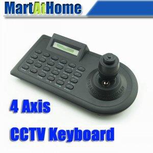 PTZ DOME CCTV Camera Controller Keyboard 4 Axis Joystick Smart Design Top Quality #BV137 @SD(China (Mainland))