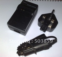 Battery Charger for Panasonic CGA-S006E DMC-FZ7 FZ8EB UK US AU EU PLUG