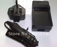 Battery Charger for Panasonic NV-GS188 NV-GS180 GS140 UK US AU EU PLUG