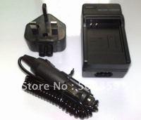 AC Battery Charger for Panasonic CGA-S004 CGA-S004E/1B UK US AU EU PLUG