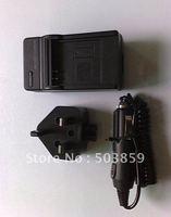 Battery Charger for Panasonic CGA-S005E DMC-LX3 DMC-FS1 UK US AU EU PLUG