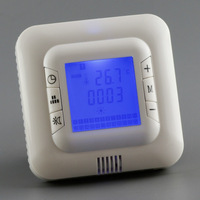 Free shipping digital heating thermostat, 100% quality products, manufacturers, wholesale, good sales Blue color backlight