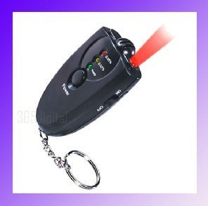 Accurate Breath Alcohol Tester Breathalyzer with Flashlight led display