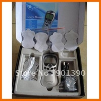 Acupuncture Body Massager Digital Therapy Machine slim massager with AC Power, Free Shipping