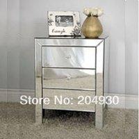 MR-401002  glass mirorred drawers