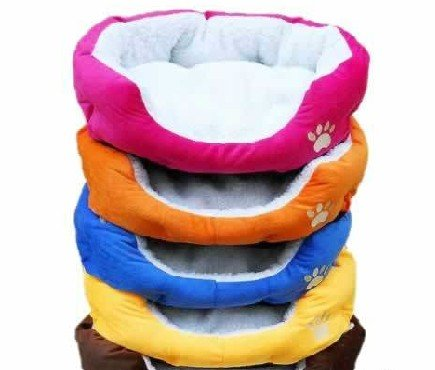 2014 HOT ! Colorful Pet Cat and Dog bed & Pink,Orange,Blue,Yellow,Brown,Gray,Green SIZE M,L(China (Mainland))