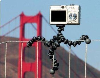 Digital Camera Mini Tripod Gorillapod free shipping 5pcs/lot