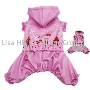 20pcs/lots wholesale dog products,Dog coat, dog raincoat, dog clothes, pets dog, Pet dog raincoat