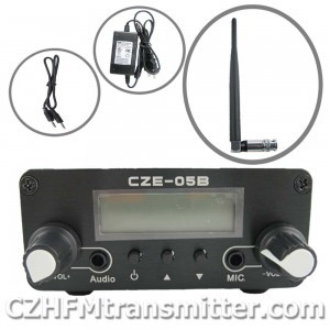 FMUSER hot CZH-05B 0.5w Fm transmitter PLL 76-108Mhz radio Broadcast kit(China (Mainland))