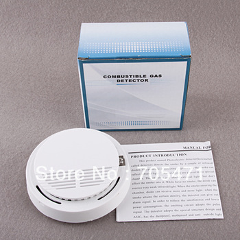 Simple Wireless Smoke Detector Sensor For Alarm System