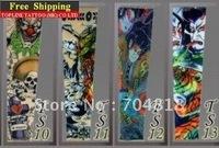 Free shipping new tattoo sleeve fake tattoo temporay tattoo arm leg sock carnival party holiday Club Bar Sport 100pcs/lot