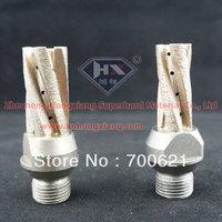 diamond finger bit , glass milling cutter, CNC glass tool ,size 25*80*5 , length 80mm