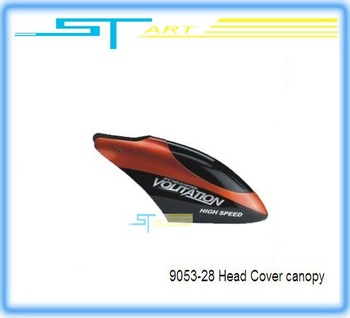 9053-28 Head Cover canopy spare part for Big SYMA 75CM 3CH RC Helicopter DH9053 9053 low shipping fee wholesale