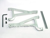 Free shipping,REVO Silver Aluminum Front Upper Arms, Item No:REV036S toys