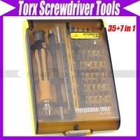 35+7 in 1 Precision Torx Screwdriver Tools Set Tweezers #1406