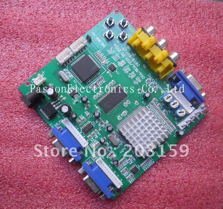 CGA TO VGA converter (2 VGA)(China (Mainland))