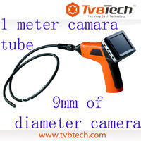 TVBTECH 9mm NDT endoscope/ portable snake scope with DVR 8803AL