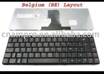 New Notebook keyboard / Laptop keyboards for Lenovo Ideapad Z450 Z460 Z460A Z460G GRAY FRAME Black BE* Version -  MP-10F26B0-686