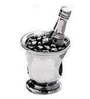 Min order $10  925 Silver Bead Charm European Silver Bead Fit BIAGI Bracelet H584 Free Shipping