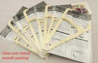 Free shipping  Authentic Personal body fat caliper, fat folder, fat clamp, Fat Measuring,skinfold caliper