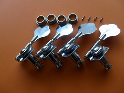 Free shipping 1*set BIG Chrome tuning pegs machince head FOR BASS GUITAR(China (Mainland))