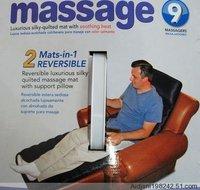 FREE SHIPPING! Heating pad, WALT-MART 9 points vibration Massage mattress,heat pad,Massage cushion