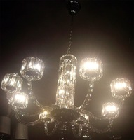 free shipping American Style Fashion Modern Crystal Chandelier Lights Crystal Lamp  With Asfour Crystal  (SP_1458-8)