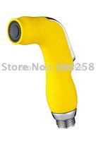 Bathroom mist sprayer / Toilet Handheld Plastic Shattaf Bidet head Nanul Portable Sprayer head  TSP78B Yellow