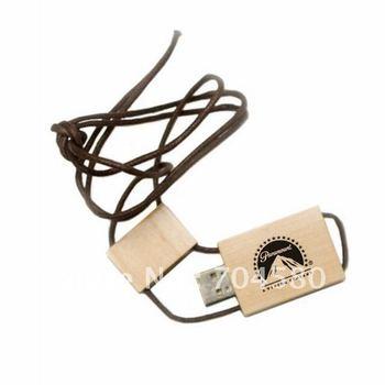 Free Shipping 1GB/2GB/4GB/8GB/16GB/32GB/64GB OEM LOGO wooden usb flash drive disk
