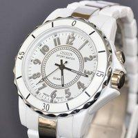 New OHSEN White 8 LED Light Analog Quartz Womens Ladies Wrist Band Sport Type Watch W053