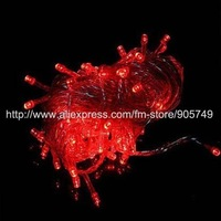 free shipping 10m100 led string christmas light festival holiday wedding decoration