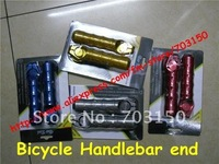 Handlebar end with a tap for bicycle parts with package 50pairs/lot + Free shipping