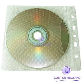 Hot selling + 100 x CD DVD Case Storage Holder Binding Binder Sleeve